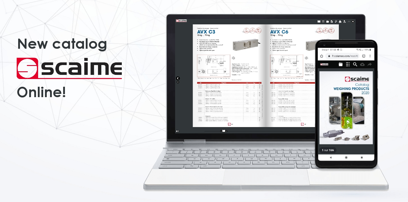 New scaime weighing catalog