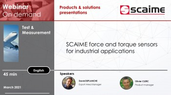 Scaime Force and torque measurement solutions