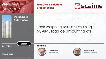On demand webinar - use of mounting kits for conveyor, tank and silo weighing