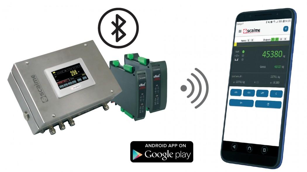 eNod4 SCAIME için eNodApp android uygulaması
